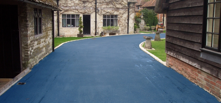NatraTex Colour Blue For Driveways
