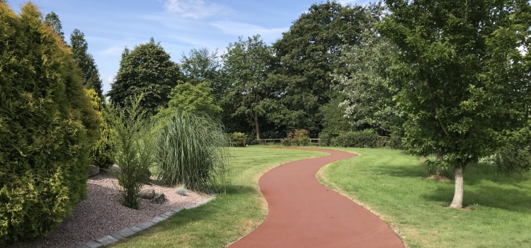 NatraTex Colour Red For Park Footpath