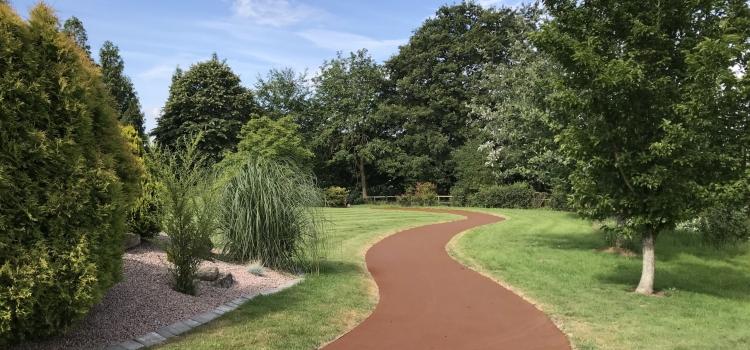 NatraTex Colour Terracotta For Park Footpaths