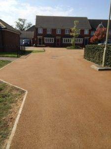 NatraTex Surfacing on Residential Road