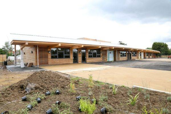 Decorative Landscaping at Fossebrook School