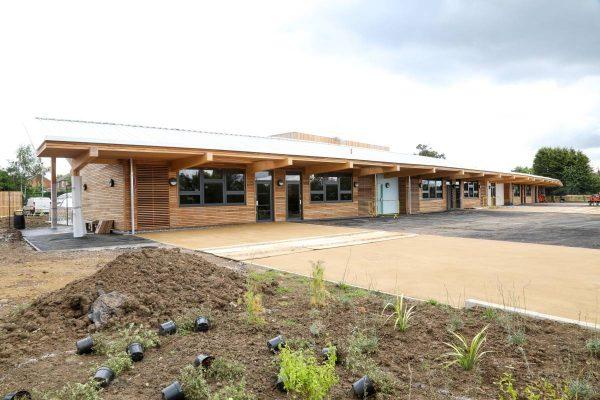 Decorative Landscaping at Fossebrook School