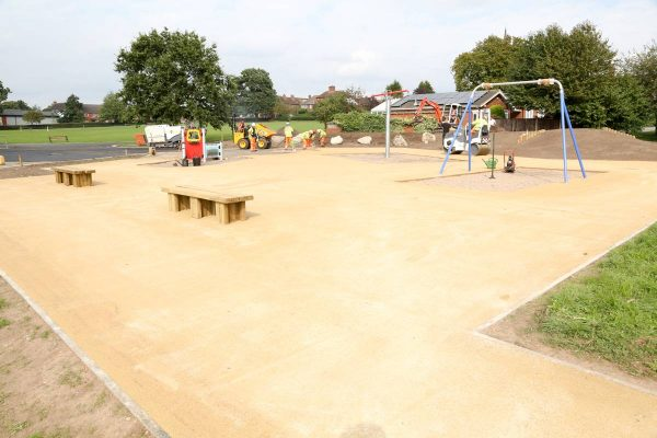 Decorative Paving for Playgrounds