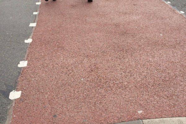 Coloured Footpaths