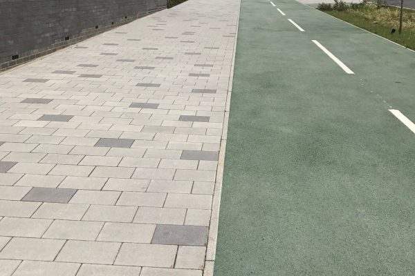 Coloured Paving in Barking