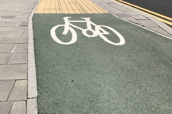 Decorative Cycle Paths in Barking