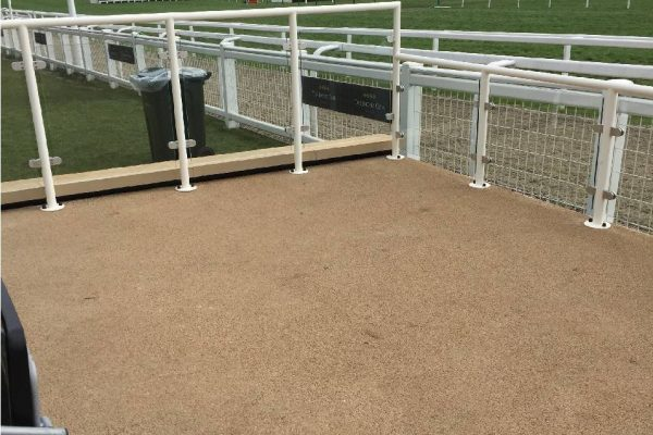 Decorative Paving at Cheltenham Racecourse