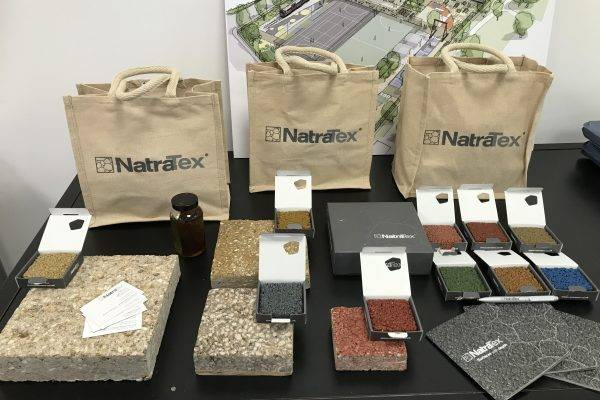 NatraTex Coloured Surfacing Products