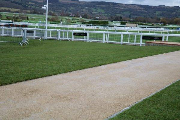 NatraTex Coloured Paving at Cheltenham Racecourse