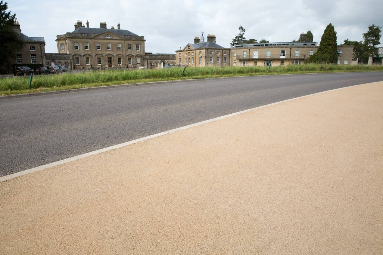 Decorative Footpaths Regenerated at Bath Spa University with NatraTex