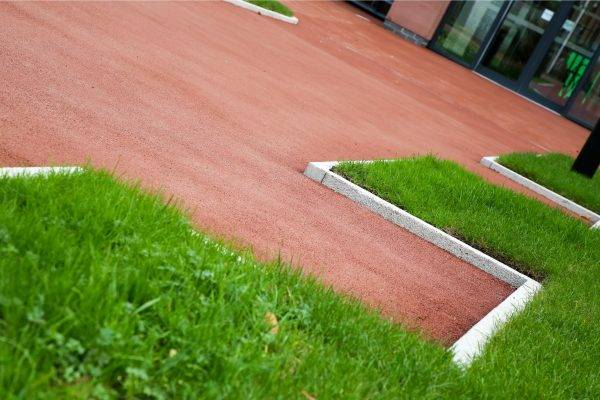 Coloured Surfacing for Park Footpaths