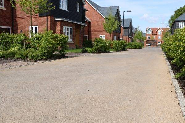 Coloured Roads at Linden Homes