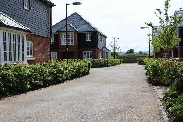 Decorative Paving at Linden Homes