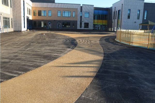 Bound Gravel Surfacing using NatraTex Porous