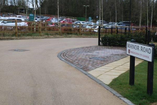 Decorative Driveways at Winchester Village