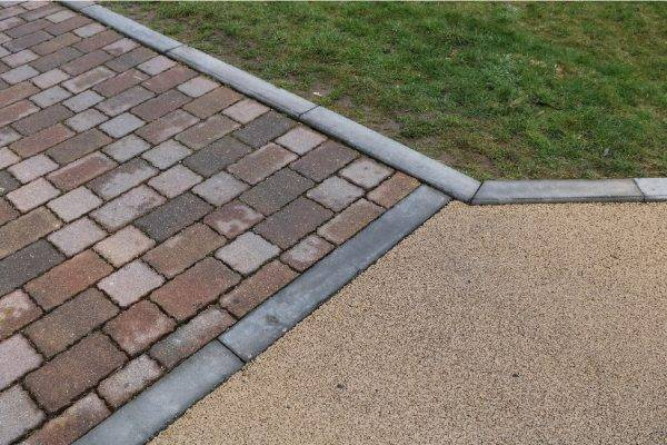 Decorative Paving at Winchester Homes