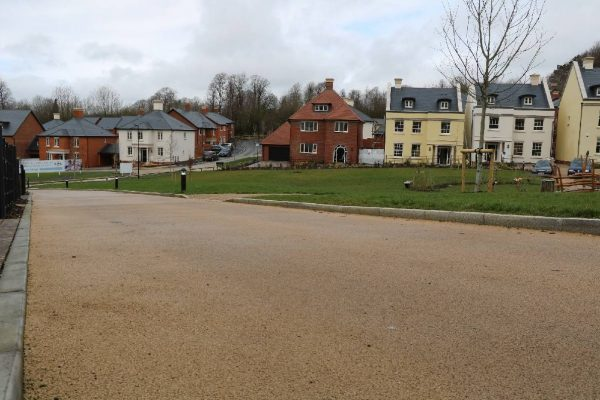 Coloured Roads at Winchester Village