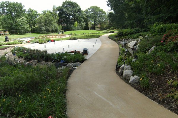 Coloured Hard Landscaping Solutions
