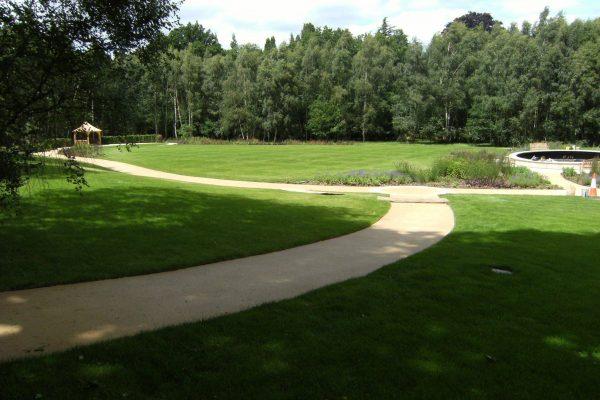 Park Footpaths in Certsey