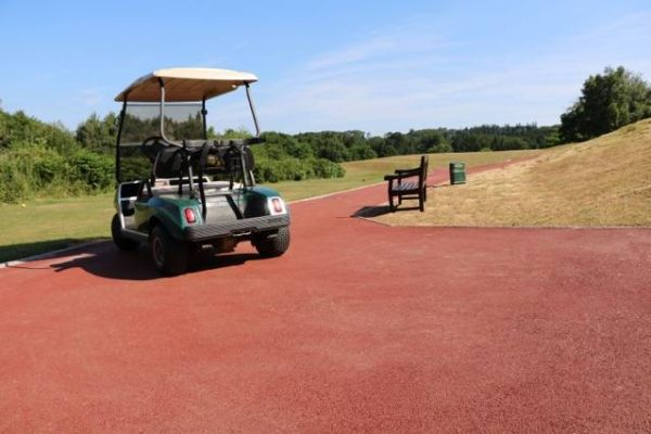 Coloured Surfacing at Monmouth Golf Club in Wales