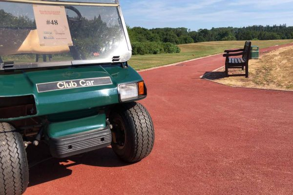 An Alternative to Resin Bound Surfacing at Monmouth Golf Club