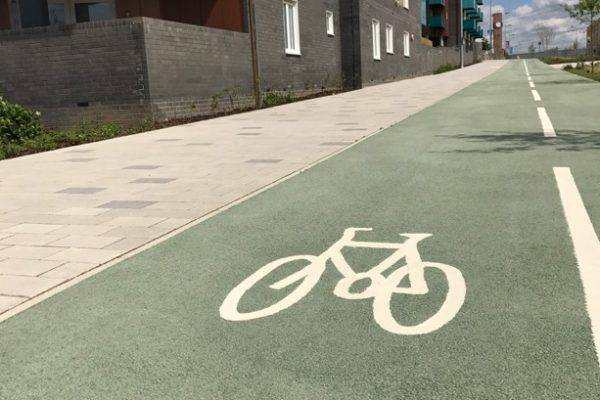 Resin Alternatives for Cycle Lanes