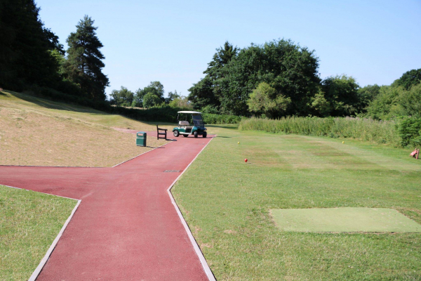 Decorative Paving At Rolls Of Monmouth Golf Course