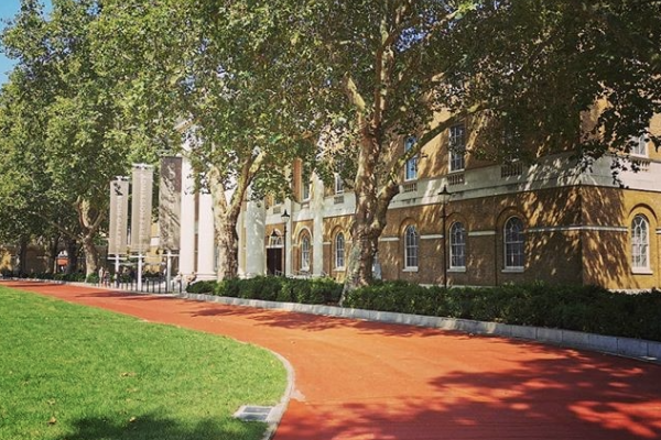 NatraTex Coloured Paving At Duke Of York Square