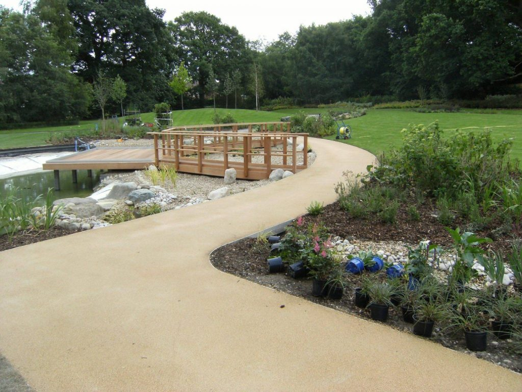 Decorative Landscaping in Chertsey