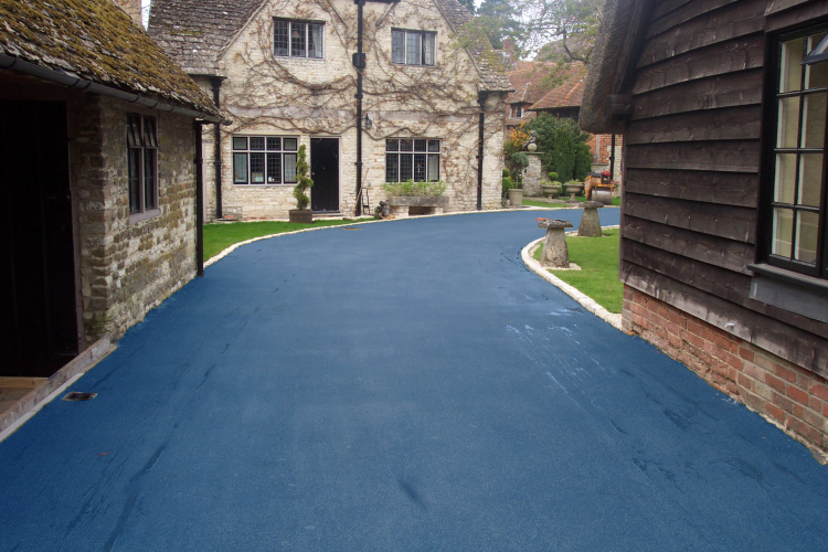 NatraTex Colour Blue For Driveways