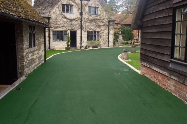 NatraTex Colour Green Footpath