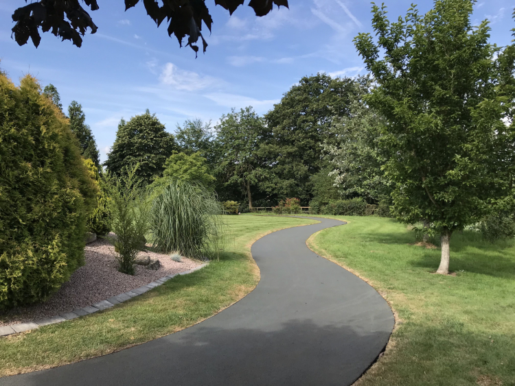 NatraTex Colour Light Grey Park Footpath