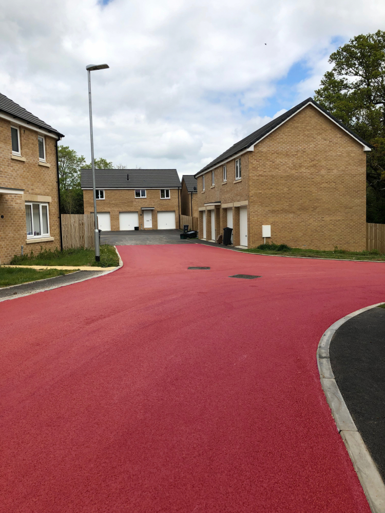 NatraTex Colour Salmon For Residential Developments