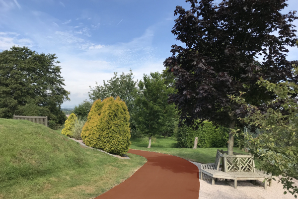NatraTex Colour For Park Footpaths