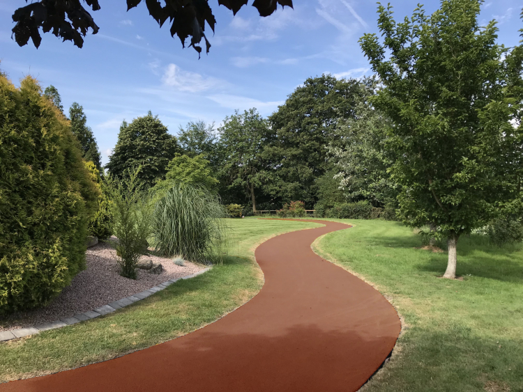 NatraTex Colour Terracotta For Park Footpaths
