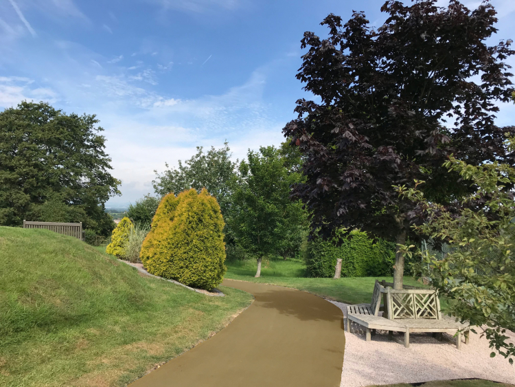 Park Footpath in NatraTex Buff 1
