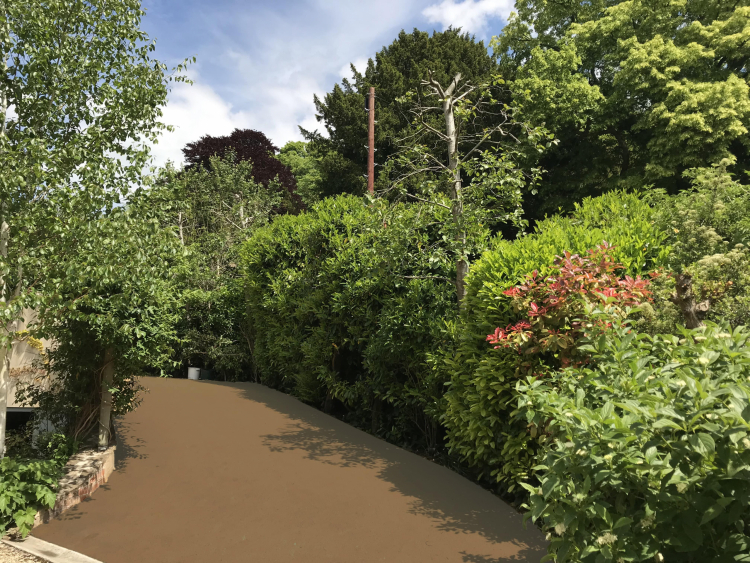 Park Footpath in NatraTex Cotswold Buff 1