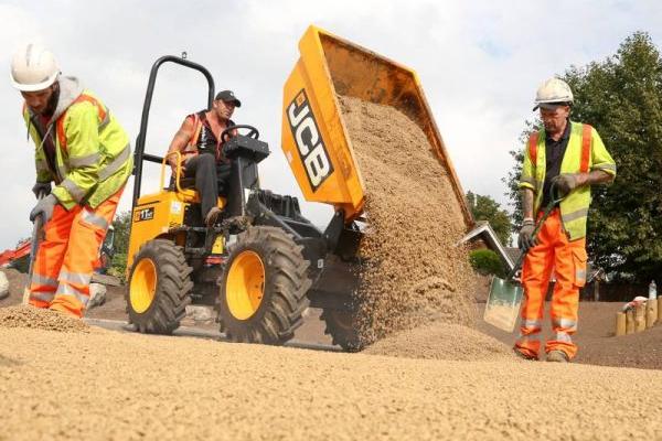Bound Gravel Surfacing Installation